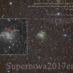 1800万光年彼方より、星の最期を伝えます★超新星2017eaw (SN2017eaw)