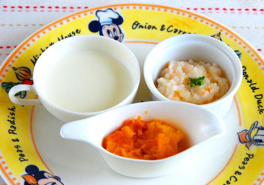 阿蘇の野菜を使ったやさしい離乳食<br />(朝・夕600円) ※平日のみ