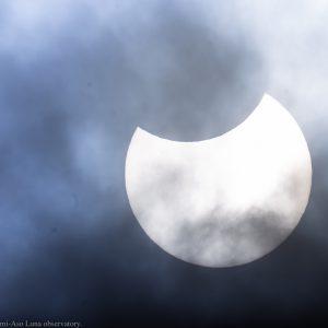 部分日食2019年1月6日@南阿蘇